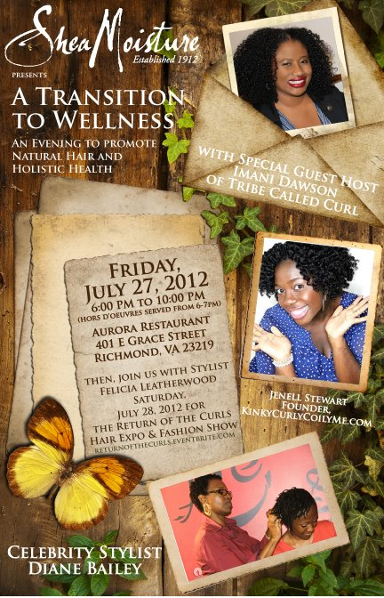 FREE SheaMoisture Transition to Wellness Event!