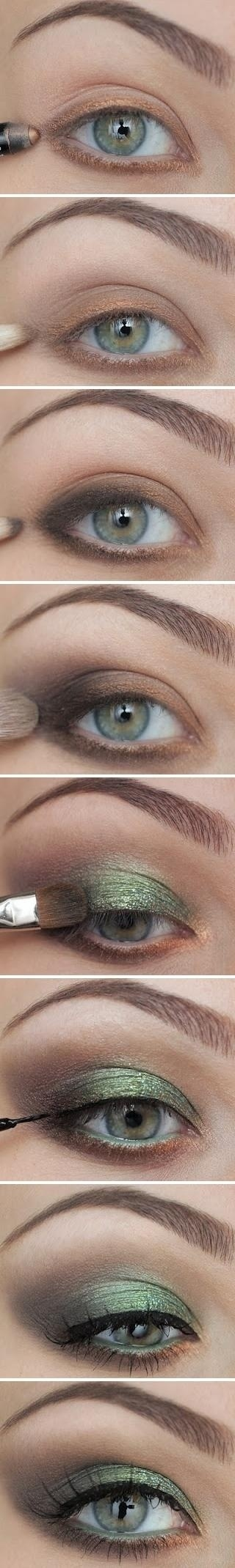 Displaying (20) Gallery Images For Smokey Eye Steps Pinterest...